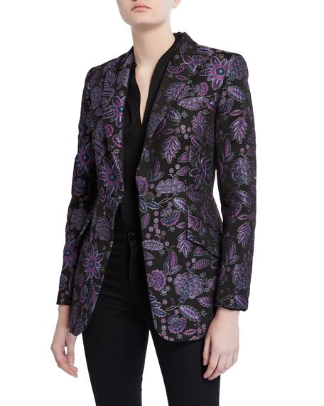 Madison Floral Embroidered Jacket