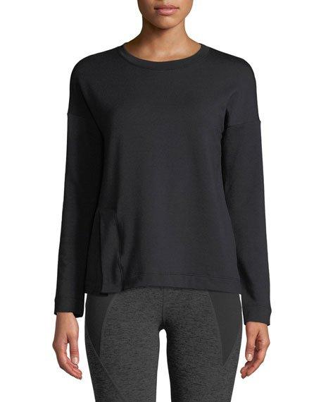 Sedona Split-Hem Activewear Sweatshirt