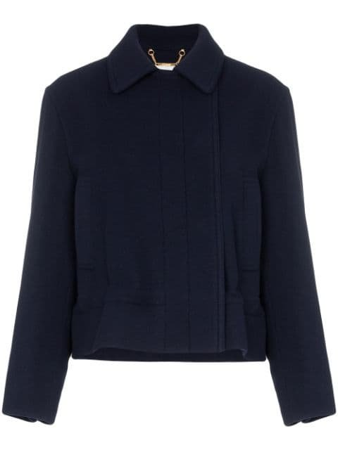 Chloé Drawstring Cropped Jacket - Farfetch