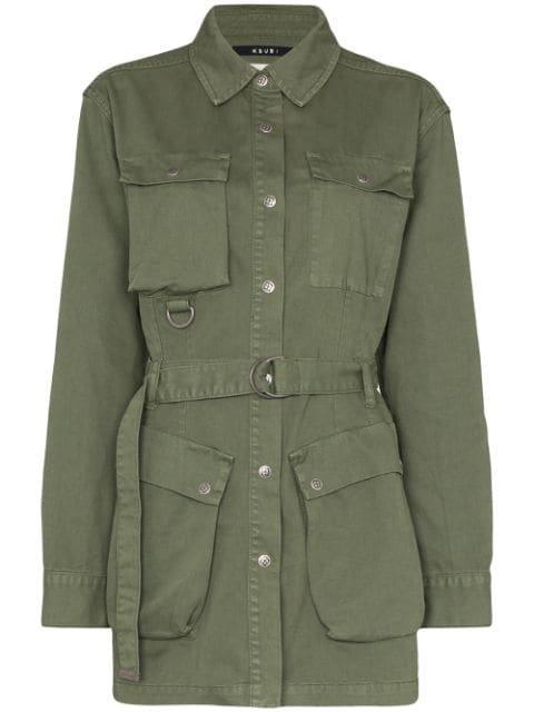 Ksubi Interlude Belted Jacket - Farfetch