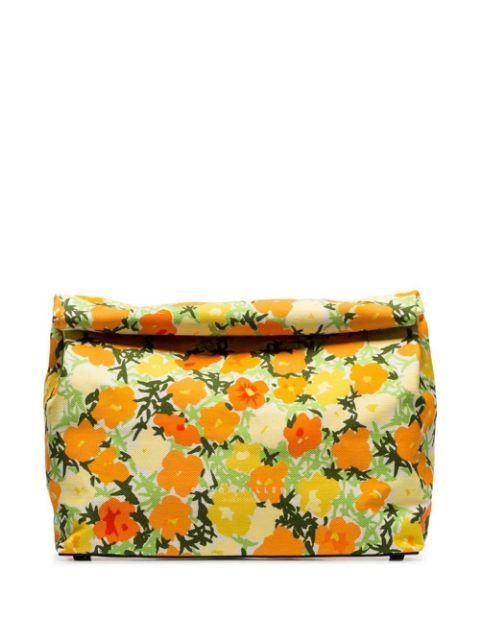 Simon Miller Multicoloured Lunchbag 30 Floral Print Clutch - Farfetch