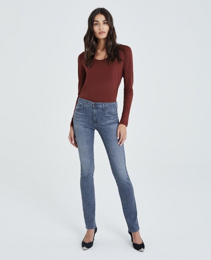 The Harper in Gray Light   AG Jeans Official Store