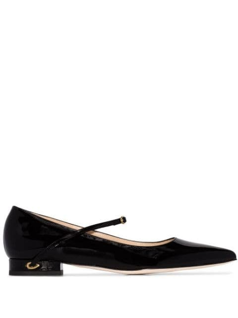 Jennifer Chamandi Lorenzo Pointed Toe Pumps - Farfetch