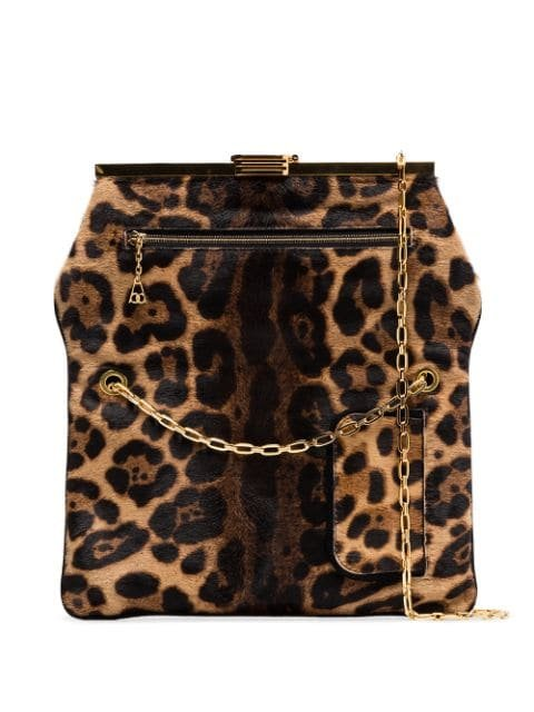 Bienen Davis PM Leopard Print Haircalf Bag - Farfetch