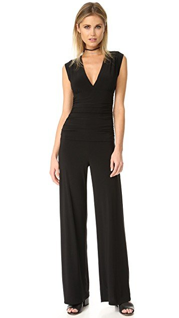 Kamali Kulture Sleeveless V Neck Jumpsuit