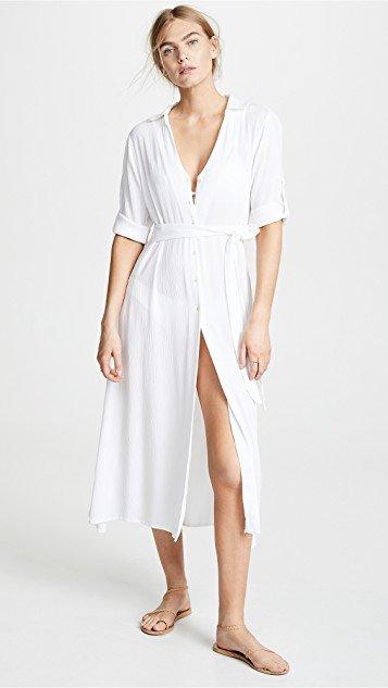 Shirt Cover Up Dress