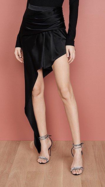 Exposed Leg Skirt