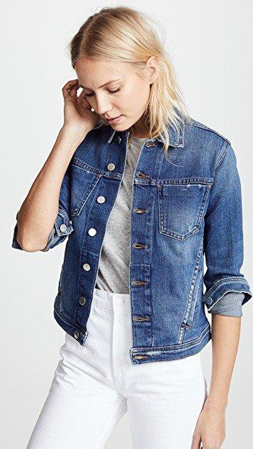 Celine Slim Fit Distressed Jacket