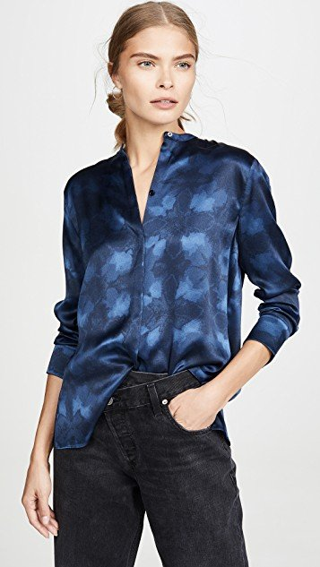 Winter Tie Dye Blouse