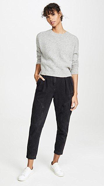 Double Seam Cashmere Sweater