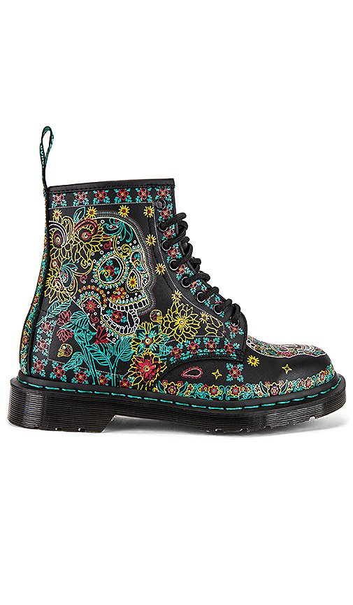 1460 Skull Backhand Boot
