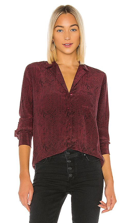 Rebel Silk Blouse
