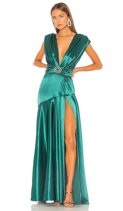 Romi Emerald Gown