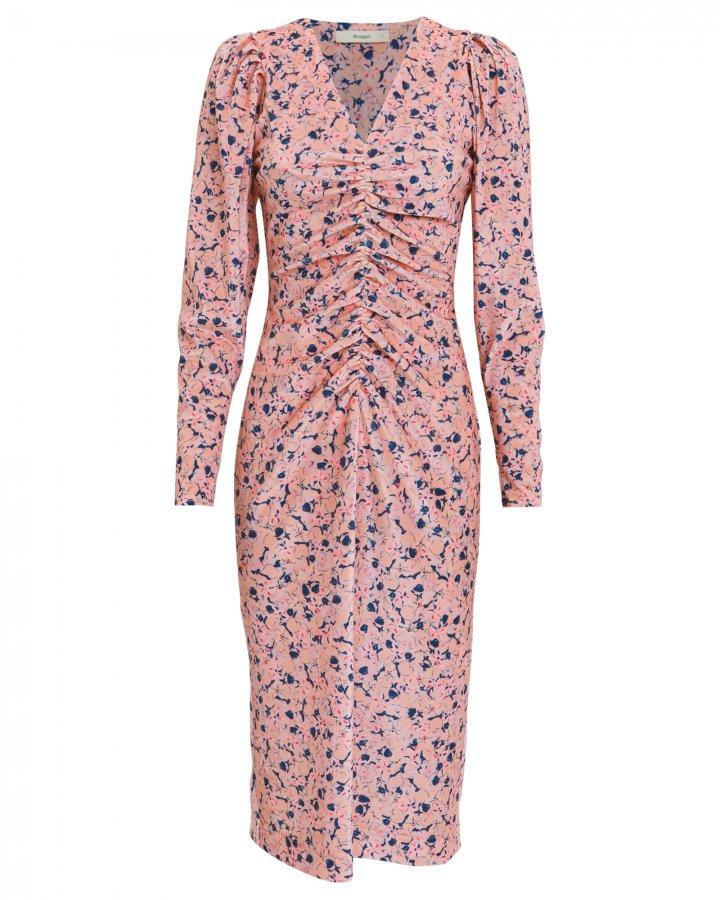 Sigrid Floral Velvet Dress