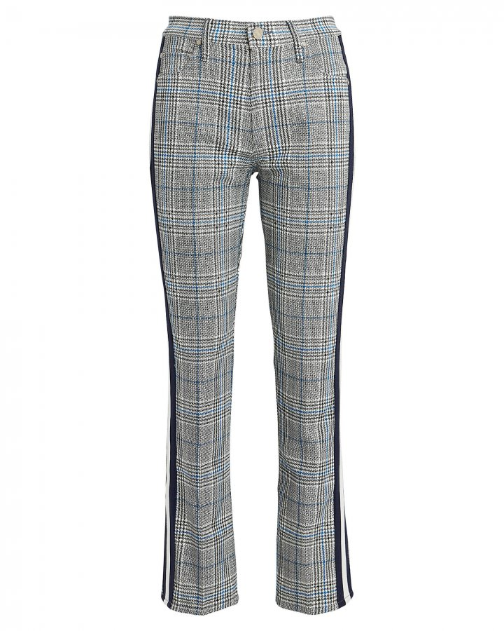 The Insider Plaid Ankle Jeans