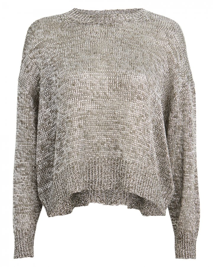 Dokis Metallic Oversized Sweater
