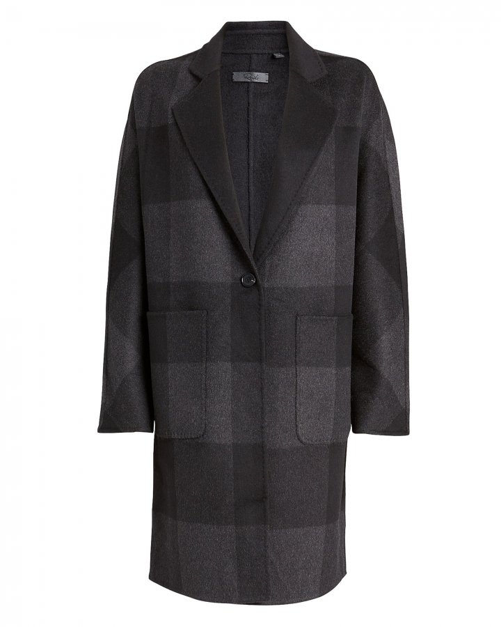 Larsen Buffalo Checked Reversible Coat