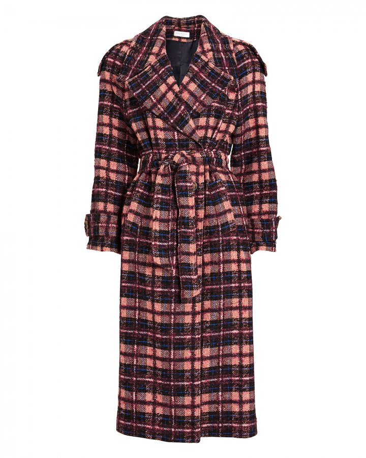 Norianna Wool-Blend Trench Coat