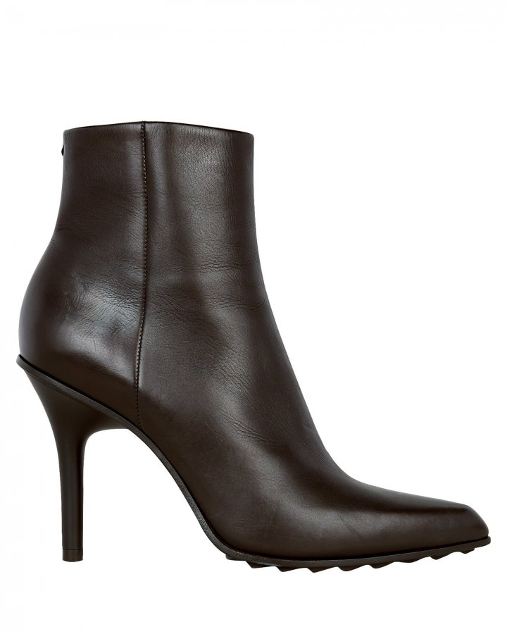 Waylon Leather Ankle Booties