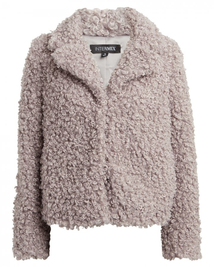 Shane Faux Shearling Jacket