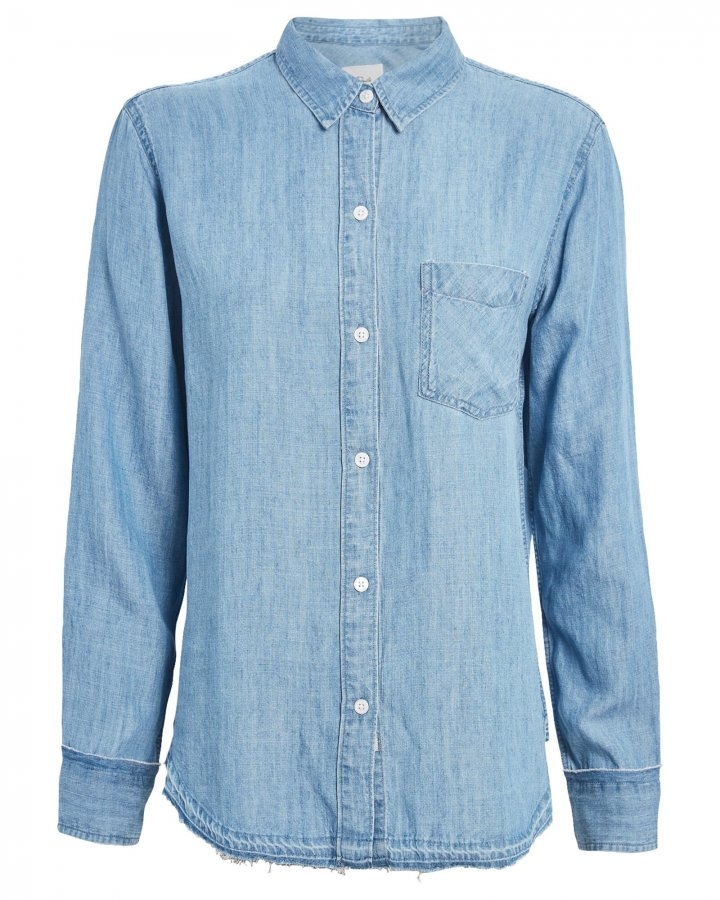 Elliot Chambray Button Down Shirt