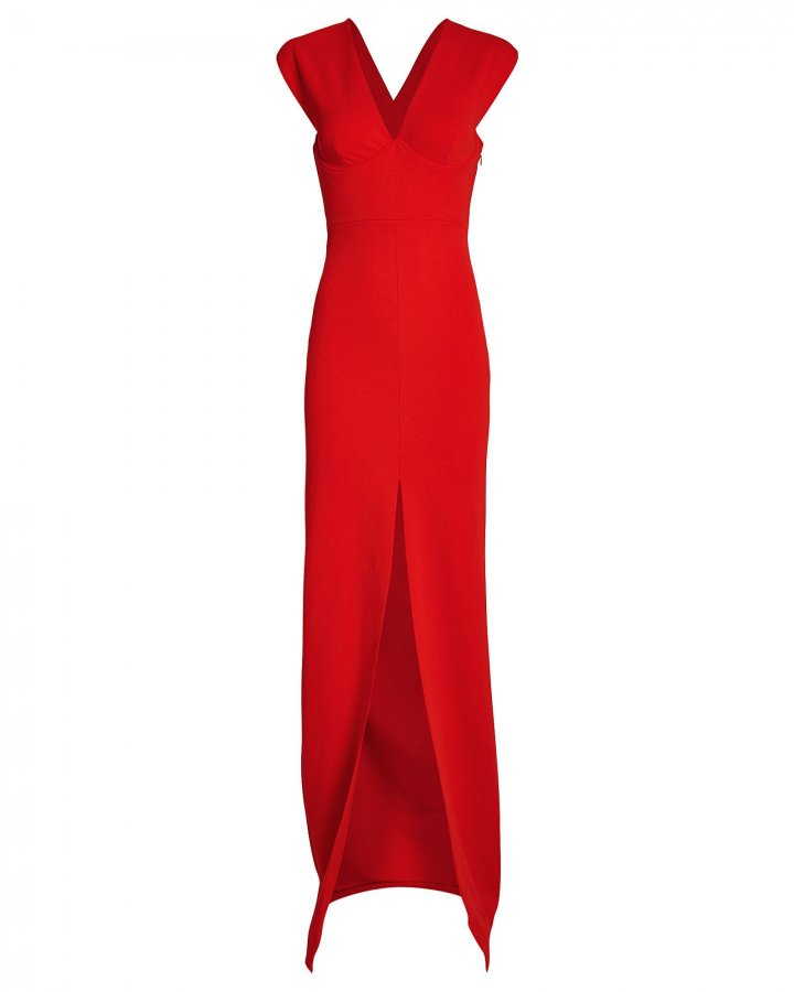 Ziva Split Front Gown