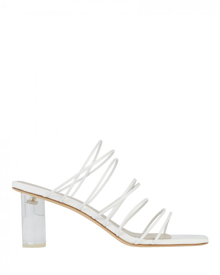 Zoe Strappy Leather Sandals