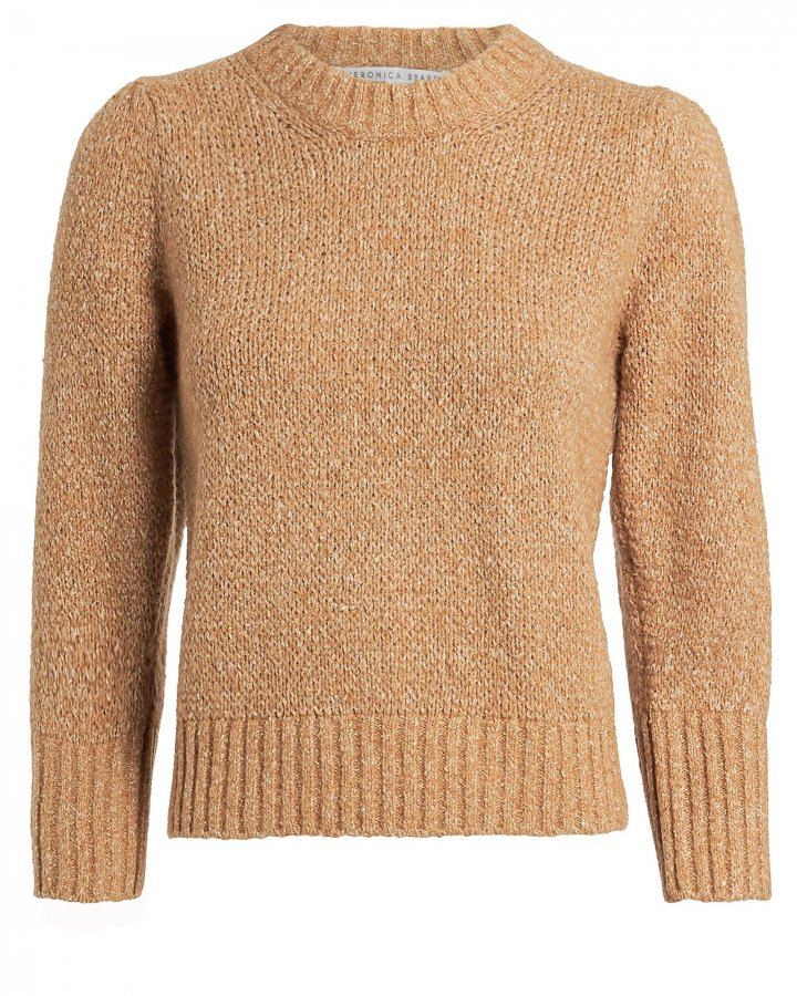 Holly Cotton & Wool-Blend Sweater