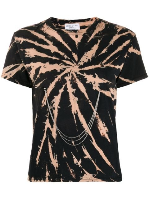 Collina Strada Spiral Bleach Tie Dye T-shirt  - Farfetch