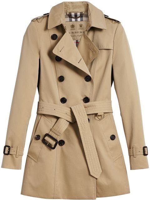 Burberry The Chelsea – Short Trench Coat - Farfetch