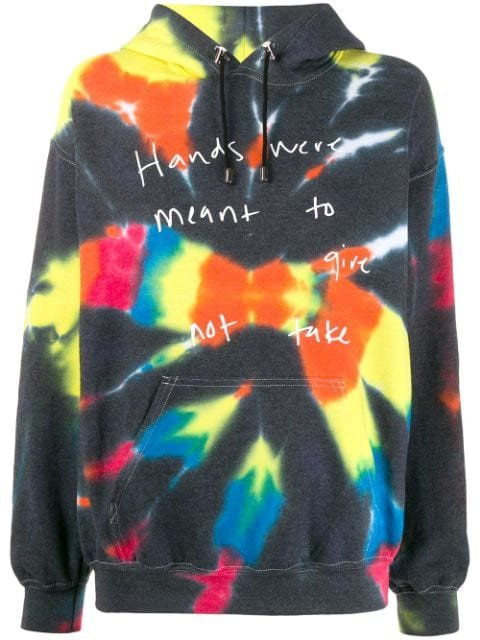 Collina Strada tie-dye Hooded Sweatshirt - Farfetch