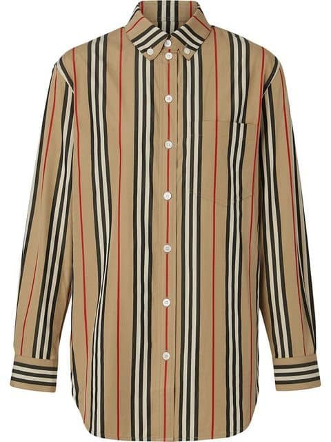 Burberry Icon Stripe Shirt - Farfetch