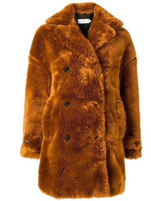 Closed Faux Fur Coat - Farfetch
