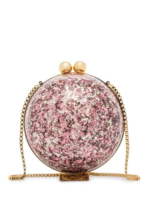 Marzook Sphere Glitter Ball Clutch Bag - Farfetch