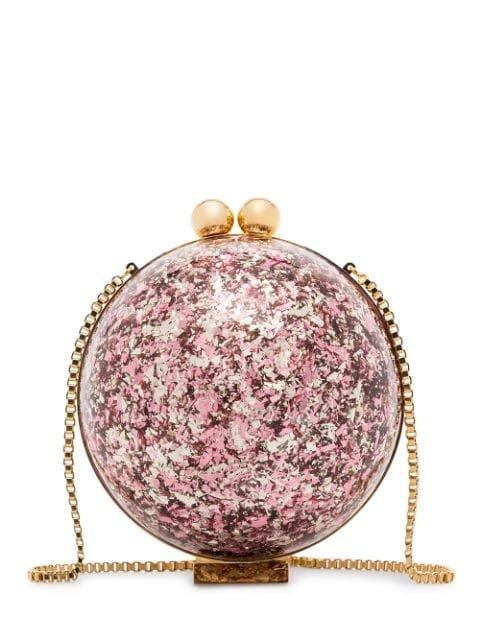 Marzook Sphere Glitter Ball Clutch Bag - Farfetch