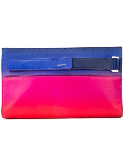 LANVIN Slim Clutch Bag - Farfetch