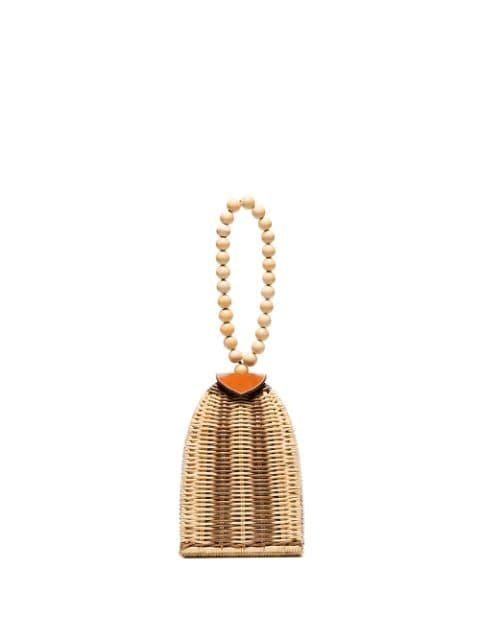 Ulla Johnson Raya Trapeze Woven Bag - Farfetch