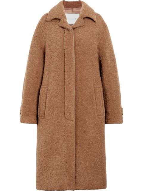 Mackintosh Beige Poodle Tweed Coat LM-081F - Farfetch