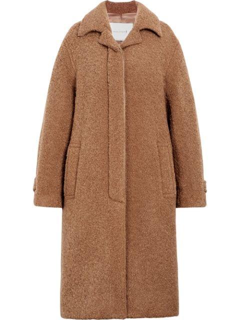 Mackintosh Beige Poodle Tweed Coat LM-081F - Farfetch