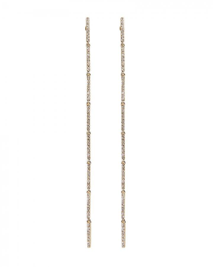 Long Bar Drop Earrings