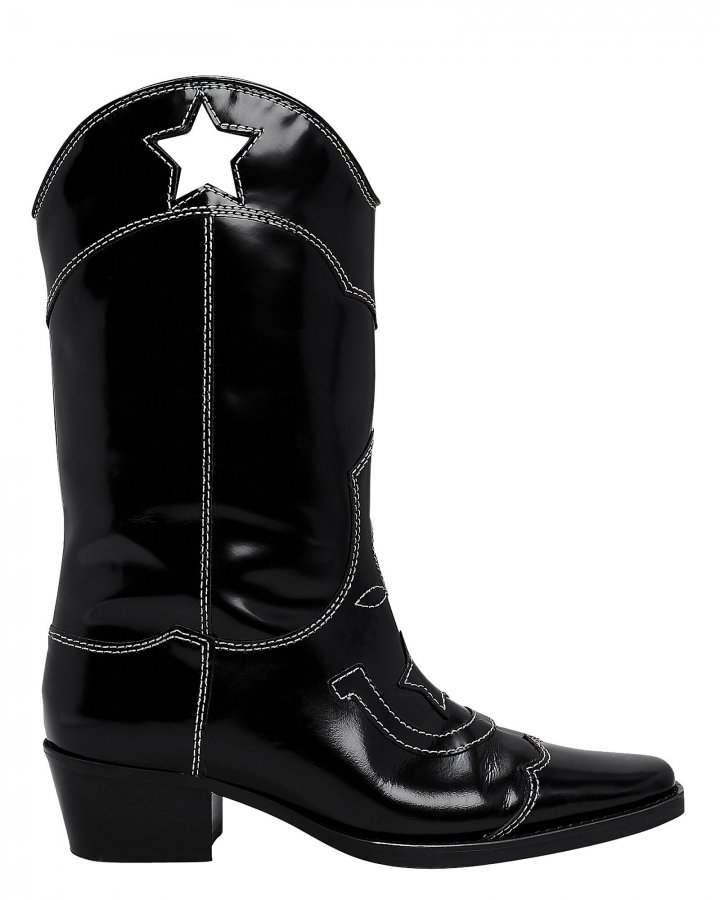 High Texas Star Western Boots
