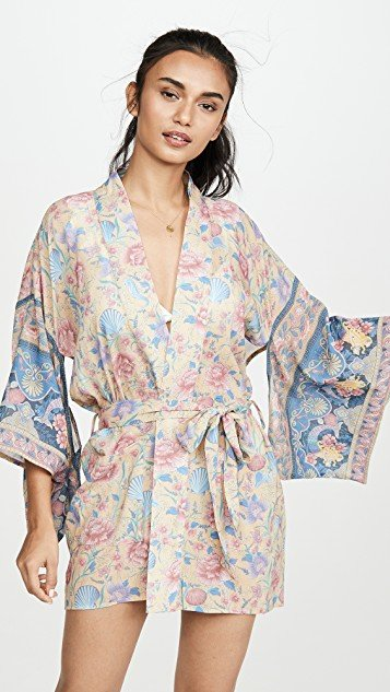 Seashell Short Robe