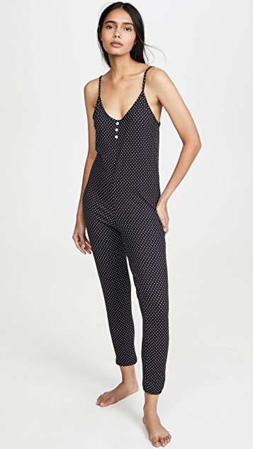Black Dotty Jumpsuit