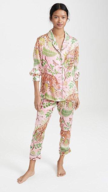 Tiger Blossom Pajamas
