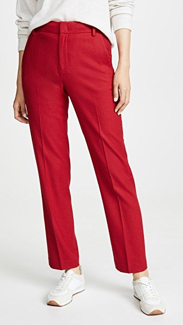 Flannel Tailored Pants