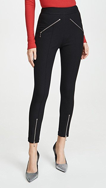 Super Stretch Pants with Ball Chain Puller