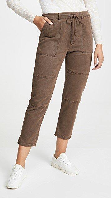 Seamed Patch Pocket Pants