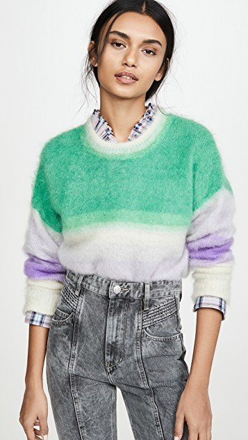 Drussell Mohair Pull Over