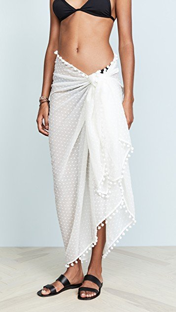 Embroidered Sarong