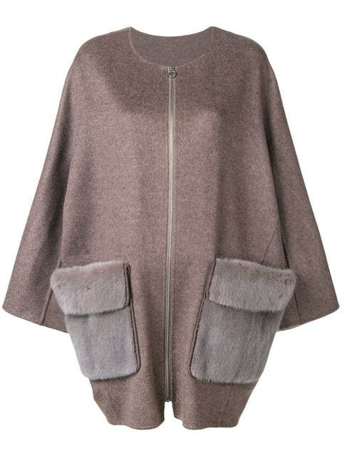 Liska Mink Fur Pocket Coat - Farfetch
